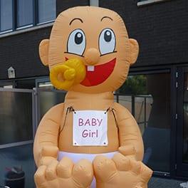 Opblaasbare baby